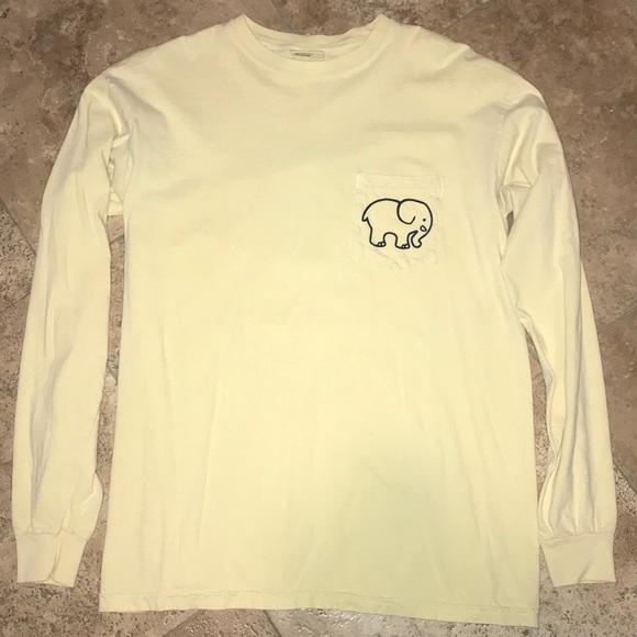 ada643b4b7b8b Ivory Ella Tops - Long Sleeve Yellow Ivory Ella Shirt